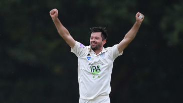 Ian Holland claimed six first-innings wickets
