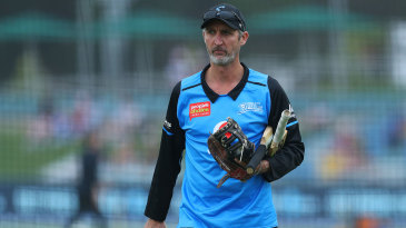Jason Gillespie has been the Adelaide Strikers coach since 2015