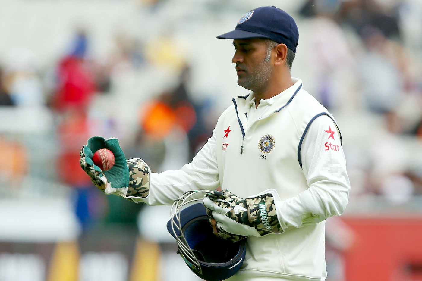 MS Dhoni captained in 60 Tests, easily the most for a wicketkeeper