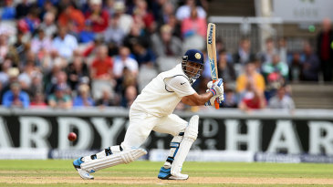 MS Dhoni's batting average of 55.08 is the highest among those who batted in the top six for India in Tests and made at least 1000 runs
