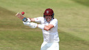Jamie Overton pulls the ball to the boundary, Bob Willis Trophy match, Northamptonshire v Somerset, Northampton, August 09, 2020