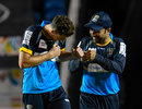 Mitchell Santner and Rashid Khan played matchwinning roles with the ball, Barbados Tridents v St Kitts and Nevis Patriots, CPL 2020, Trinidad, August 18, 2020