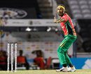 Imran Tahir took two wickets in a miserly spell, Guyana Amazon Warriors v St Kitts and Nevis Patriots, CPL 2020, Trinidad, August 19, 2020
