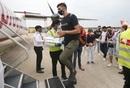 Delhi Capitals' Ishant Sharma departs for Mumbai to join the squad, New Delhi, August 20, 2020