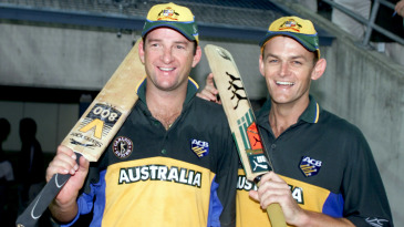 Mark Waugh and Adam Gilchrist opened in 42 consecutive ODIs for Australia between 1998 and 1999, averaging 41.5 for the opening wicket in that period