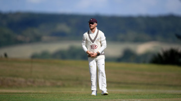 Laurie Evans has been on loan at Surrey for the Bob Willis Trophy