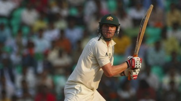 Cameron White played all his four Tests on the same tour of India in late 2008