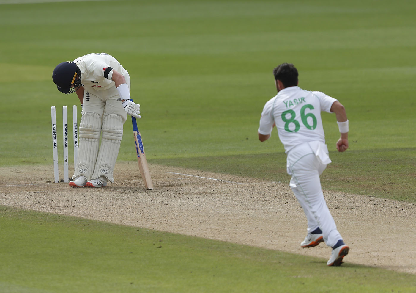 Ollie Pope Was Castled By Yasir Shah England V Pakistan 3rd Test Southampton 1st Day August 21 2020