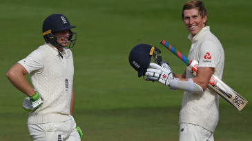 Jos Buttler and Zak Crawley put on a valuable stand