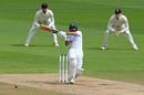 Fawad Alam swats into the leg side, England v Pakistan, 3rd Test, Southampton, 3rd day, August 23, 2020