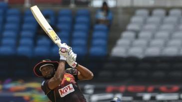 Kieron Pollard cracked 41 off just 17 deliveries against Barbados Tridents