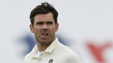 James Anderson took a five-wicket haul in Pakistan's first innings