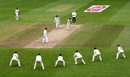 An expectant slip cordon sees an edge coming with Anderson bowling, England v Pakistan, 3rd Test, Southampton, 4th day, August 24, 2020
