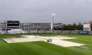 Covers on at the Ageas Bowl with rain disrupting play, England v Pakistan, 3rd Test, Southampton, 4th day, August 24, 2020