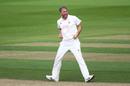 Rikki Clarke celebrates a breakthrough, Surrey v Kent, The Oval, 3rd day, Bob Willis Trophy, August 24, 2020