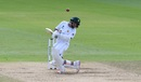 Abid Ali had to weather a short-ball barrage, England v Pakistan, 3rd Test, Southampton, 4th day, August 24, 2020