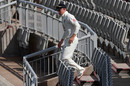 Ollie Pope left the field in the second over with a shoulder injury, England v Pakistan, 3rd Test, Southampton, 4th day, August 24, 2020
