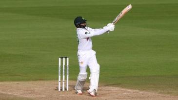 Azhar Ali smacks one into the legside