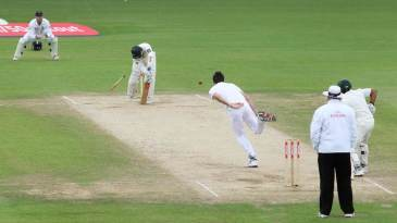 Mohammad Yousuf couldn't keep out James Anderson's yorker