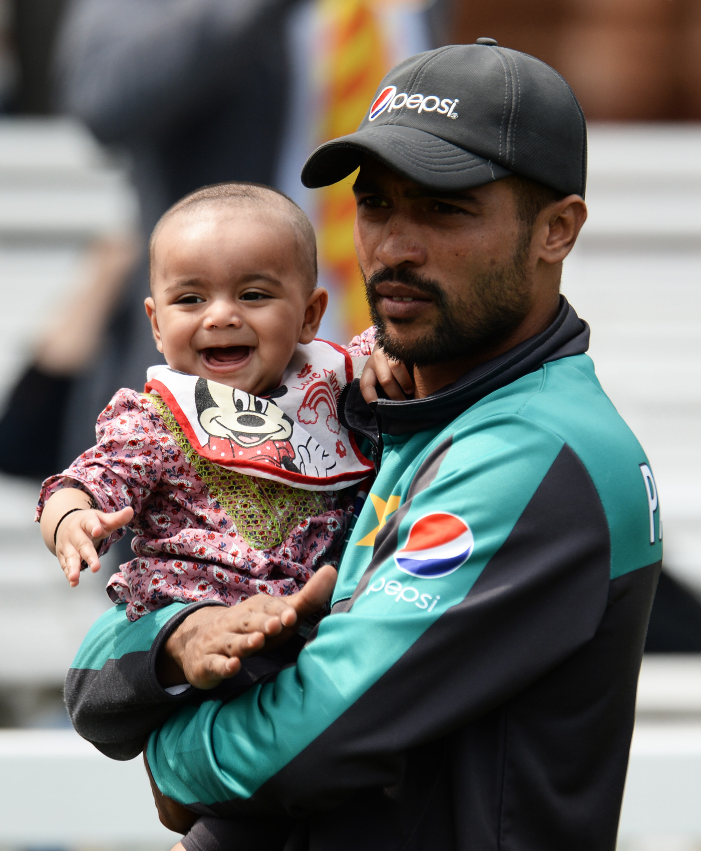 Family ties: marriage and fatherhood, Amir says, have loosened cricket's hold over him, with his other responsibilities taking precedence
