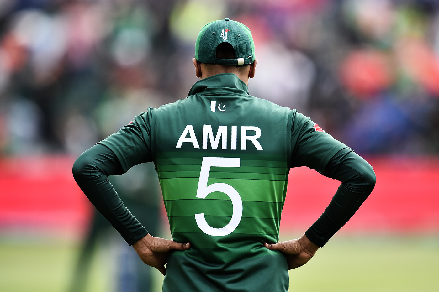 Amir often tells the story of how he felt when he first saw his name on a Pakistan shirt