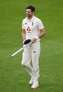 You take your 600th wicket, you grab a stump as a souvenir - as James Anderson does, England v Pakistan, 3rd Test, Southampton, 5th day, August 25, 2020