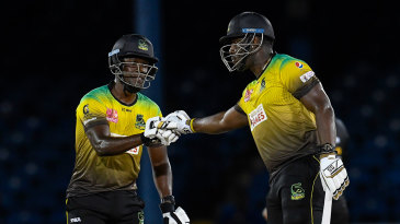 Nkrumah Bonner and Andre Russell guided the Tallawahs to victory