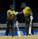 Nkrumah Bonner and Andre Russell guided the Tallawahs to victory, Guyana Amazon Warriors v Jamaica Tallawahs, CPL 2020, Trinidad, August 25, 2020