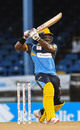 Kyle Mayers made his first T20 half-century, Jamaica Tallawahs v Barbados Tridents, Port-of-Spain, CPL, August 26, 2020