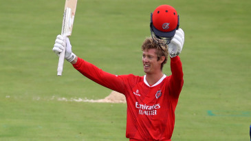 Keaton Jennings scored his maiden T20 hundred