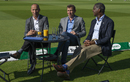 Nasser Hussain, Michael Atherton and Michael Holding during the fourth Test, England v India, Ageas Bowl, Southampton, September 2, 2018