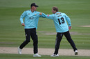 Veteran spinner Gareth Batty was in the wickets, Sussex v Surrey, Vitality Blast, Hove, August 28, 2020