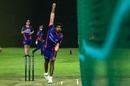 Jasprit Bumrah thunders in at Mumbai Indians training, Abu Dhabi, August 28, 2020