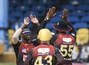 Akeal Hosein struck with the new ball for Trinbago Knight Riders, Trinbago Knight Riders, Barbados Tridents, Queen's Park Oval, CPL 2020, August 29, 2020