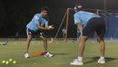 Mohammad Kaif imparts lessons on fielding during a training session, IPL 2020, Dubai, August 29, 2020