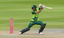 Babar Azam steers behind square, England v Pakistan, 2nd T20I, Old Trafford, August 30, 2020