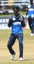 Hayden Walsh Jr. claimed 3 for 19 in his spell of four overs, Barbados Tridents v St Lucia Zouks, CPL 2020, Port Of Spain, August 30, 2020