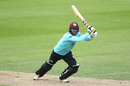 Ben Foakes stretches out to drive, Surrey v Essex, Vitality Blast, The Oval, August 30, 2020