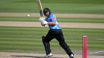 Luke Wright works one into the leg side