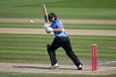 Luke Wright works one into the leg side, Sussex v Surrey, Vitality Blast, Hove, August 28, 2020