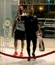 Lungi Ngidi and Faf du Plessis arrive at Chennai Super Kings' team hotel for IPL 2020, Dubai, September 1, 2020