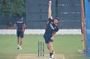 Dale Steyn bowls in the nets, IPL 2020, Dubai, September 1, 2020