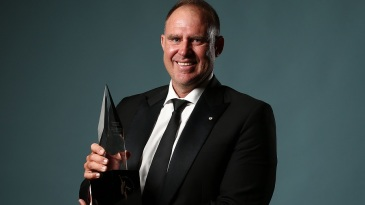 Matthew Hayden is an Australian Cricket Hall of Famer