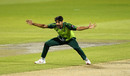 Haris Rauf beseeches the umpire for an lbw, England v Pakistan, 3rd T20I, Old Trafford, September 1, 2020