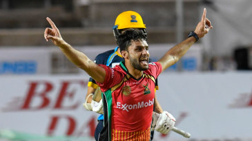 Naveen-ul-Haq finished with 4 for 14