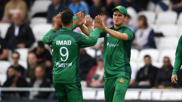 Imad Wasim and Shaheen Shah Afridi will appear in the T20 Blast