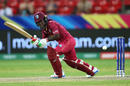Deandra Dottin works one to the leg side, West Indies v England, ICC Women's T20 Cricket World Cup, Sydney, March 01, 2020