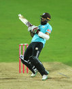 Hashim Amla tries the ramp, Surrey v Hampshire, Vitality Blast, The Oval, September 3, 2020