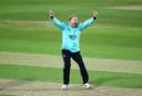 Gareth Batty appeals, Surrey v Middlesex, The Oval, Vitality Blast, September 5, 2020