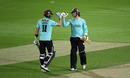 Ben Foakes and Jamie Smith shared an unbroken 93-run stand, Surrey v Middlesex, Vitality Blast, The Kia Oval, September 05, 2020